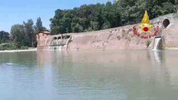 Casalecchio di Reno (Bologna): il fiume dove il 21enne è morto.