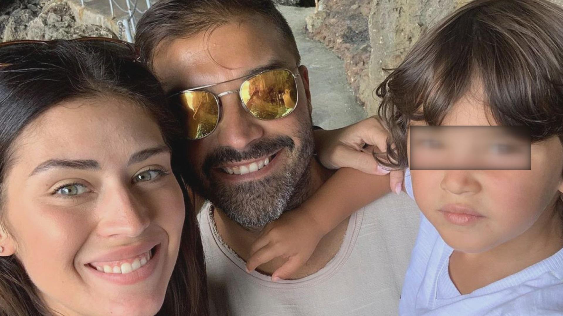 Giada Pezzaioli con la sua famiglia