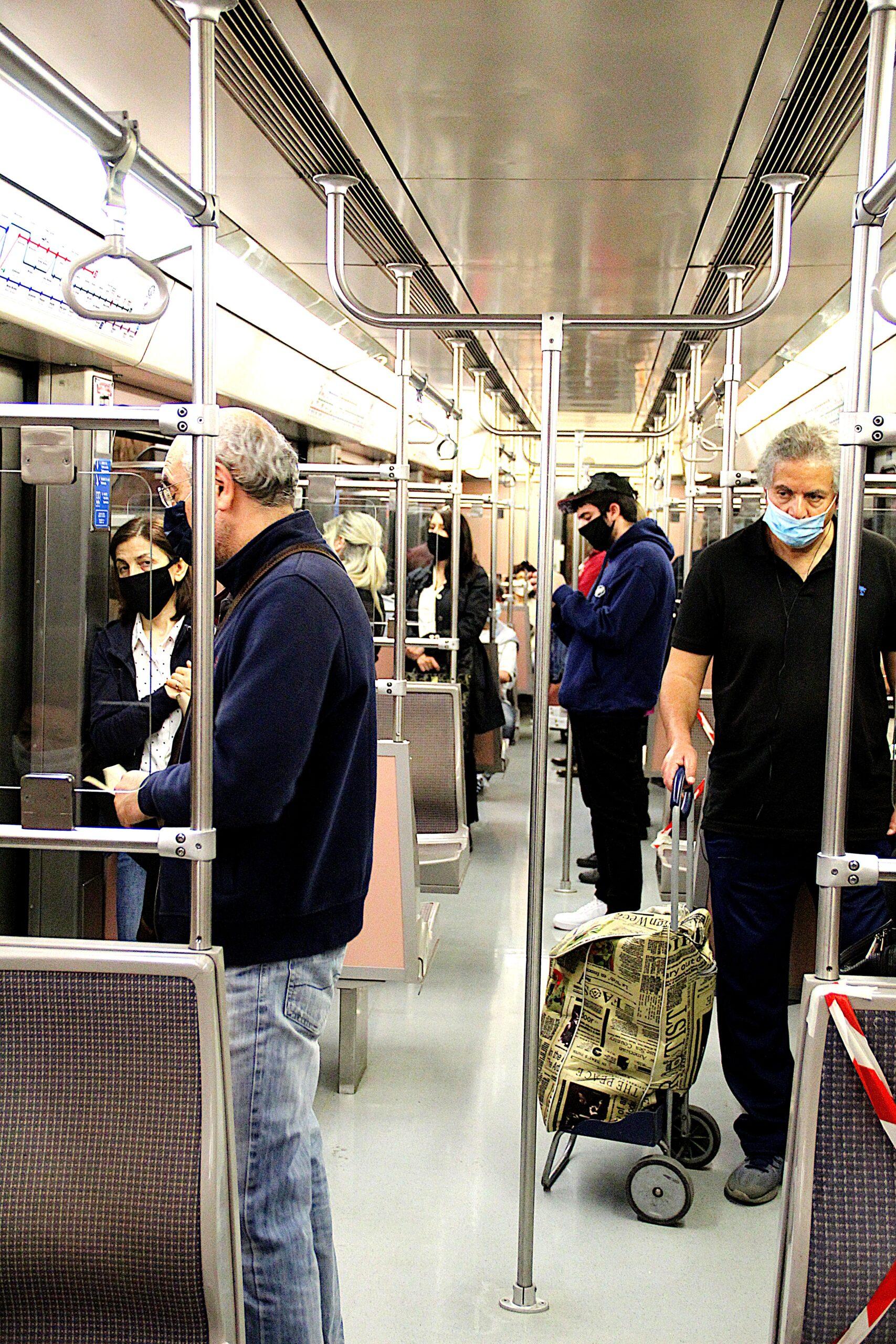 treno coronavirus