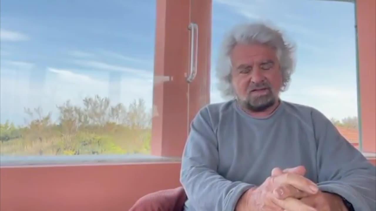 """Beppe Grillo difende il figlio: """"Nessuno stupro, arrestate me"""" (VIDEO)"""